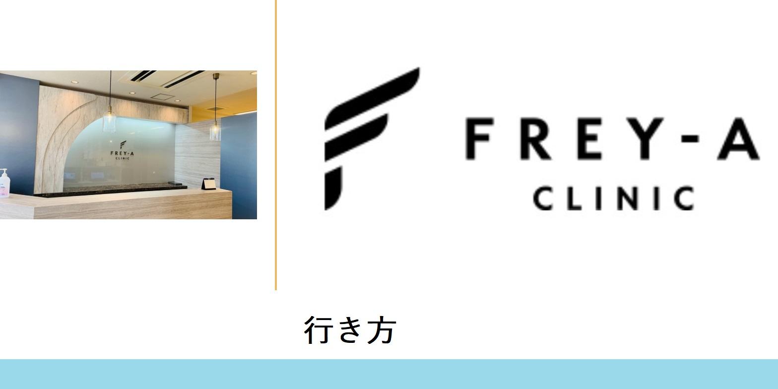 フレイアクリニック(新宿院-行き方)